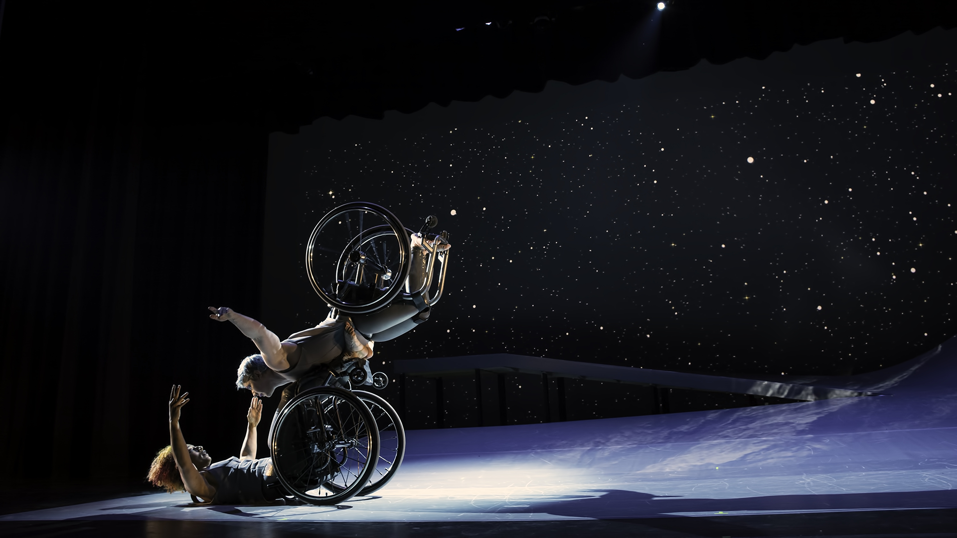 Artists Dancing in Wheelchairs